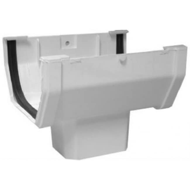 Genova RW144A Duraspout Drop Outlet, White