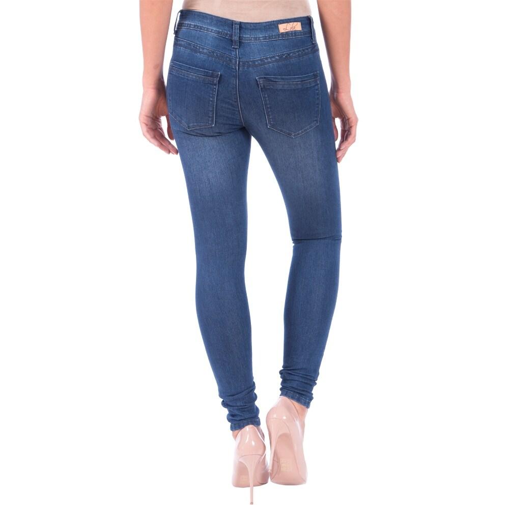 Lola Classic Skinny Jeans, Celina-MB - Thumbnail 1