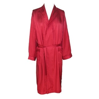 Majestic International Men's Silk Shawl Robe