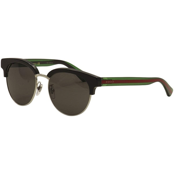 be89f4c7f27 Gucci Women Gg0058Sk 002 Fashion Sunglasses - Black   Red   Green - One  Size. Click to Zoom