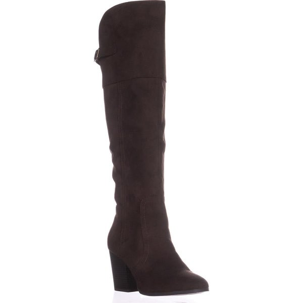 Easy Street Maxwell Knee-High Boots, Brown - 9 w us