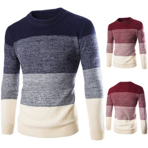 Men's Sweater Head Color Matching