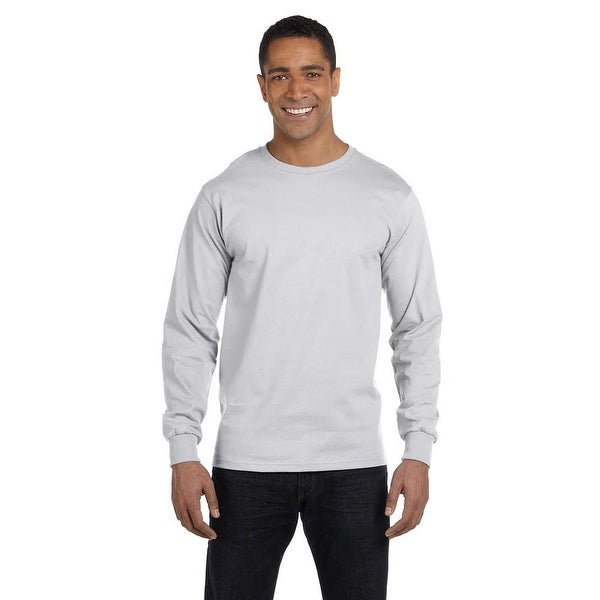 Gildan Men's Dry Blend Fabric Long Sleeve T-shirt. Opens flyout.