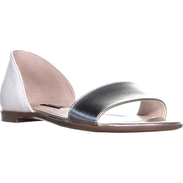 1462e1b62b2bc9 Shop Nine West Maris Slip On Flat Sandals