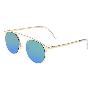 Sixty One Avalon Unisex Stainless Steel Sunglasses - 100% UVA/UVB Prorection - Polarized/Mirrored Lens - Multi