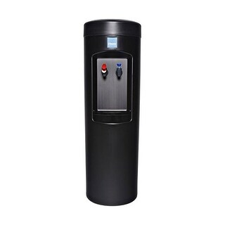 Clover D7A Water Dispenser -Hot and Cold, Bottleless With Install Kit, 2HL Filter, Filter Head - Black