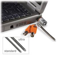 Kensington K67723us Microsaver Keyed Ultra Laptop Lock For Business