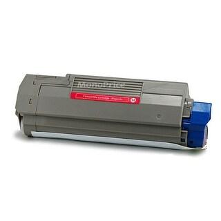 Monoprice Compatible okidata C5500 C5800 43324402 Laser Toner - Magenta