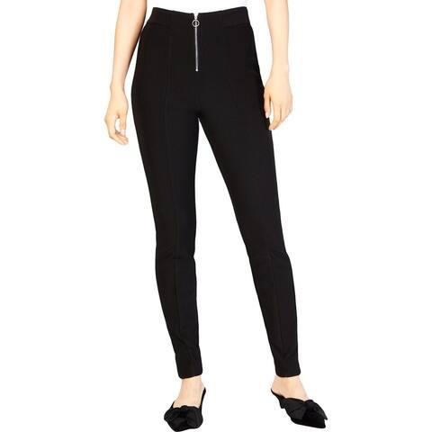 Be Bop Womens Juniors Ankle Pants High Waist Skinny
