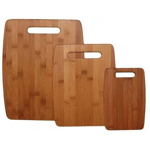 Totally Bamboo 20-7920 Cutting Board Set, 3-Piece