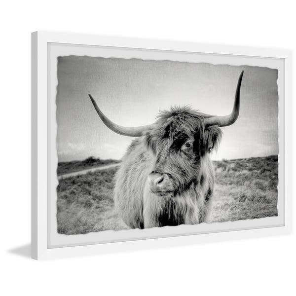 Shop Away From Herd Framed Painting Print Overstock 32407117