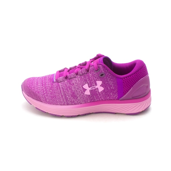 first rate be79f acdc3 Kids Under Armour Girls Grade School Charged Bandit 3 Low Top Lace Up  Running.