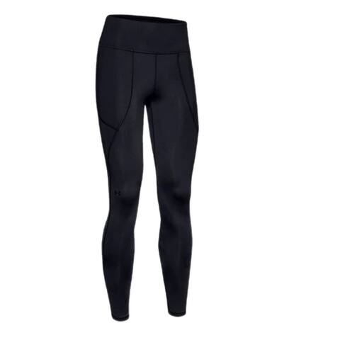 Under Armour Women's High Waist Performance Links Leggings, Black, M