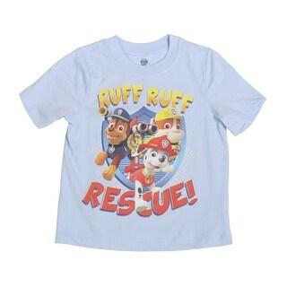 Paw Patrol Ruff Ruff Rescue Toddlers Short Sleeve