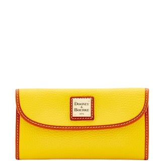 Dooney & Bourke Pebble Grain Continental Clutch Wallet (Introduced by Dooney & Bourke at $128 in Dec 2015)