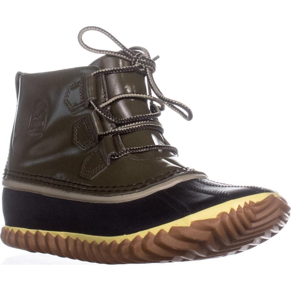 SOREL Out N About Rain Boots, Nori - 9 us / 40 eu