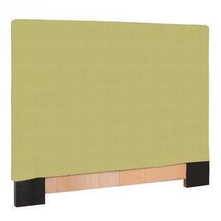 Howard Elliott Sterling Willow Slipcovered Headboard Willow 100% Polyester Upholstery Headboard