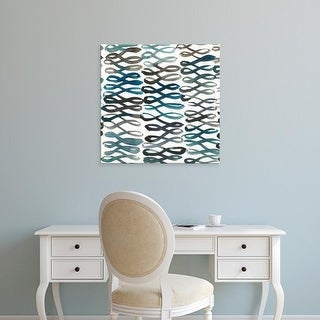 Easy Art Prints Chariklia Zarris's 'La Mer IV' Premium Canvas Art