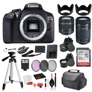 Link to Canon EOS Rebel T6 Digital SLR Camera with 18-55mm Lens and EF-S Similar Items in Digital Cameras