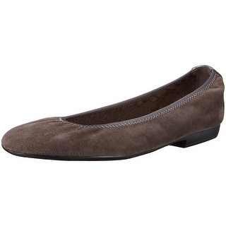 Nine West Womens Giovedi Leather Closed Toe Ballet Flats