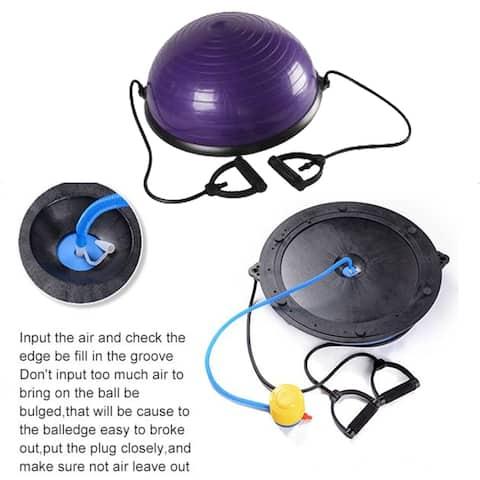 Explosion-proof Yoga ball Balance Hemisphere Fitness for Gym Office