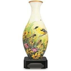 Goldfinchs-3D Vase Puzzle 160Pc