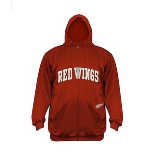 NHL Detroit Red Wings Full Zip Up Hoodie