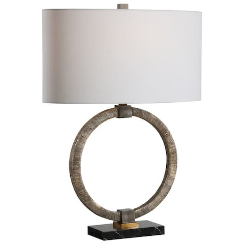 Uttermost Relic Aged Gold Table Lamp