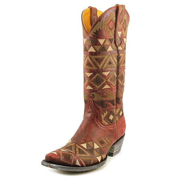 "Old Gringo Durango 13"" Pointed Toe Leather Western Boot"