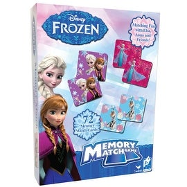 Disney Frozen Memory Match Game Styles Will Vary