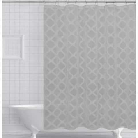 Ellen Tracy Aurora 13-Pc. Shower Curtain/Hook Set
