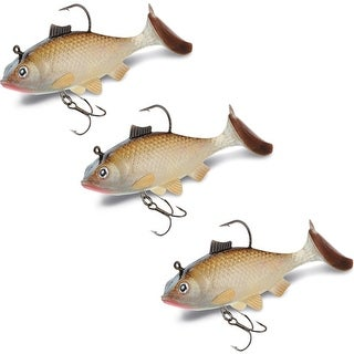 Storm WildEye Live Shiner Fishing Lures (3-Pack) - beige