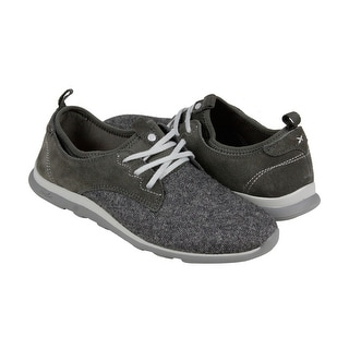 Cushe Shakra Womens Grey Textile Lace Up Sneakers Shoes