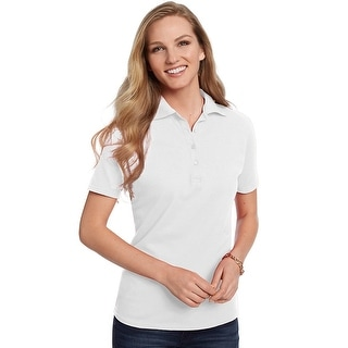 Hanes ComfortSoft Cotton Pique Women's Polo Shirt