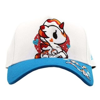Tokidoki Hikari Unicorno White Snapback Hat