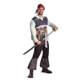 Captain Jack Sparrow Classic Mens Costume