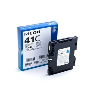Ricoh 405762 (Gc41c) Cyan Ink Cartridge Tank