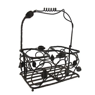 Biltmore Inspirations Arbor Vine Metal Table Caddy - 6 X 11 X 7.5 inches