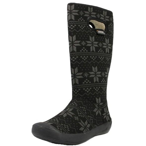 Bogs Boots Womens Summit Sweater Max-Wix Waterproof Nylon
