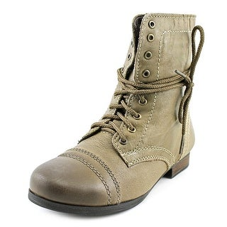 Steve Madden J Troopa Youth Round Toe Leather Boot