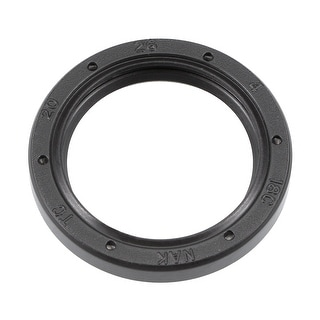Oil Seal, TC 20mm x 26mm x 4mm, Nitrile Rubber Cover Double Lip - 20mmx26mmx4mm