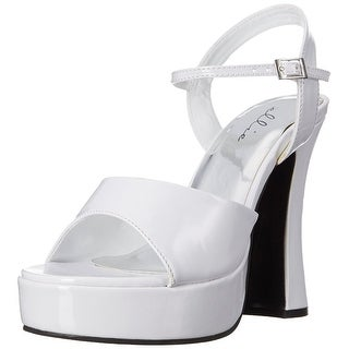 Women's Lea Heeled Costume Sandal, White