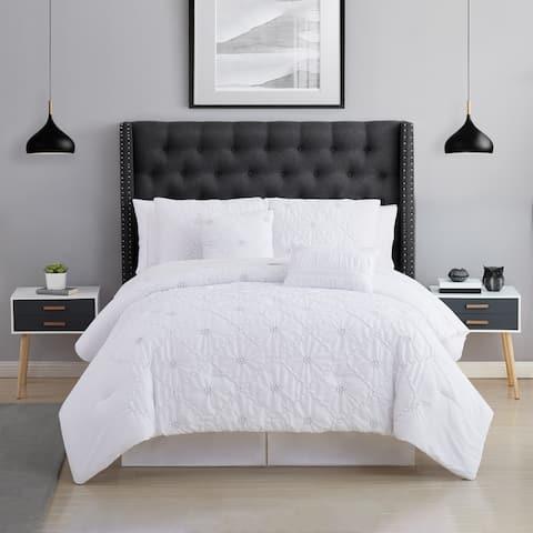 Modern Threads Huffington 5 Piece Embellished Comforter Set