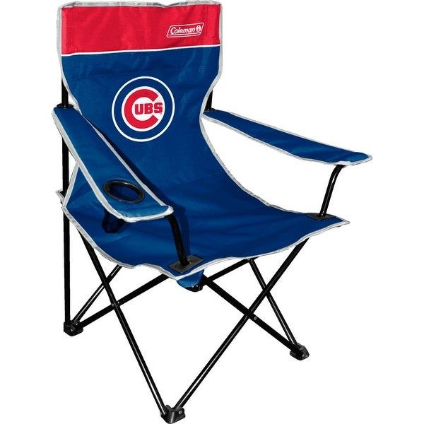 Coleman MLB Chicago Cubs Broadband Quad Chair - Multi-color