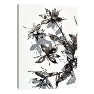 "PTM Images 9-108531  PTM Canvas Collection 10"" x 8"" - ""Transparent Flora 2"" Giclee Flowers Art Print on Canvas"