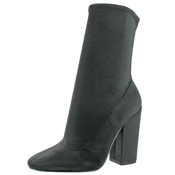 Kendall + Kylie Hailey Womens Satin Ankle Bootie Boot