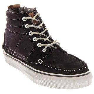 06fa8bac75122d Black Vans Men s Shoes