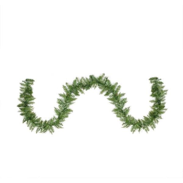 "9' x 10"" Northern Pine Artificial Christmas Garland - Unlit - green"