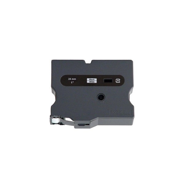 """Brother TX2511 Brother TX2511 Laminated Tape Cartridge - 1"""" Width x 50 ft Length - Direct Thermal - White - 1 Each"""