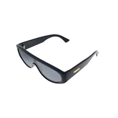 Bottega Veneta BV 1027S 001 Womens Black Frame Grey Lens Sunglasses